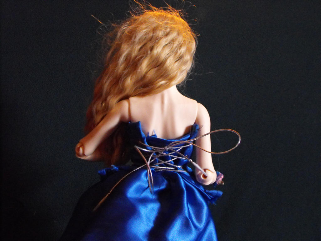 Little Blue Gown by cheyenna45