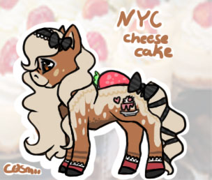 .: nyc cheesecake pony points action :. closed by C0SMii