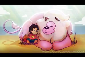 Steven + Lion by jason92
