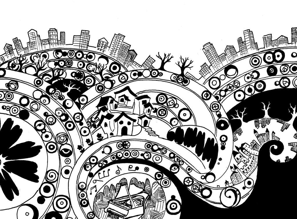 Symphony City by frostyshadows