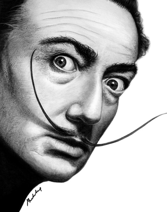 Salvador Dali by bdnhung