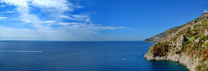 Amalfi Coast Panorama by travelie