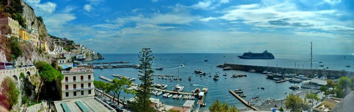Amalfi Panorama by travelie