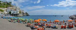 Amalfi Beach Panorama