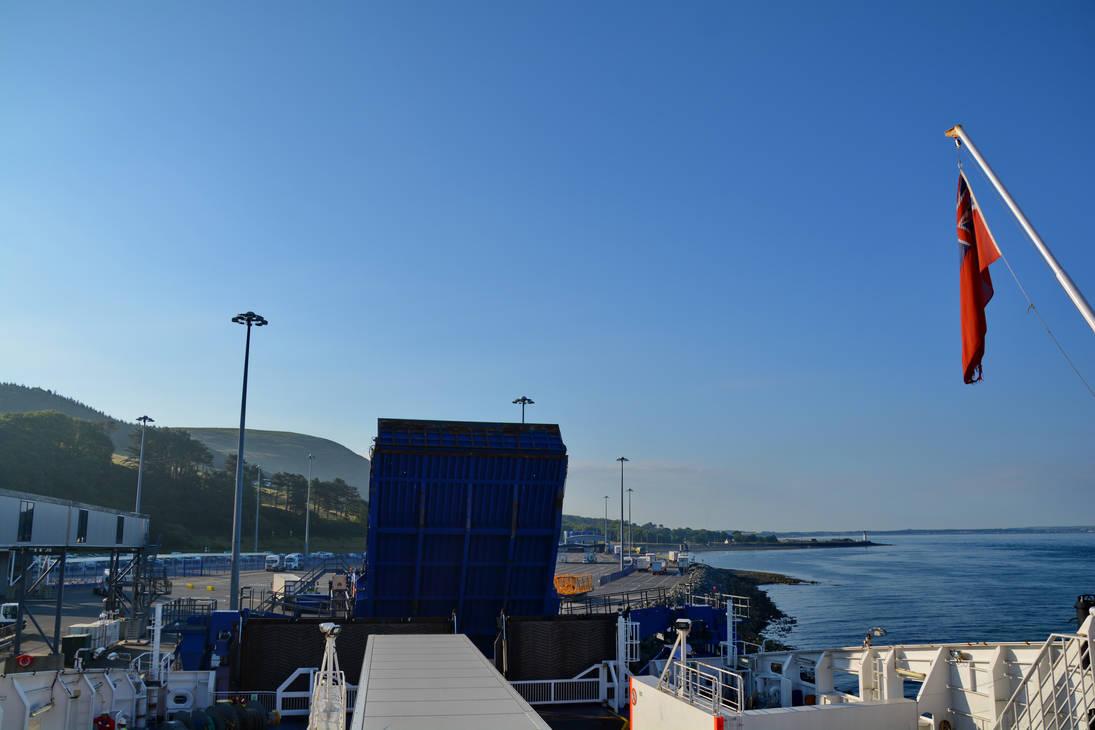 Cairnryan Port by travelie