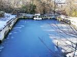 frozen pool