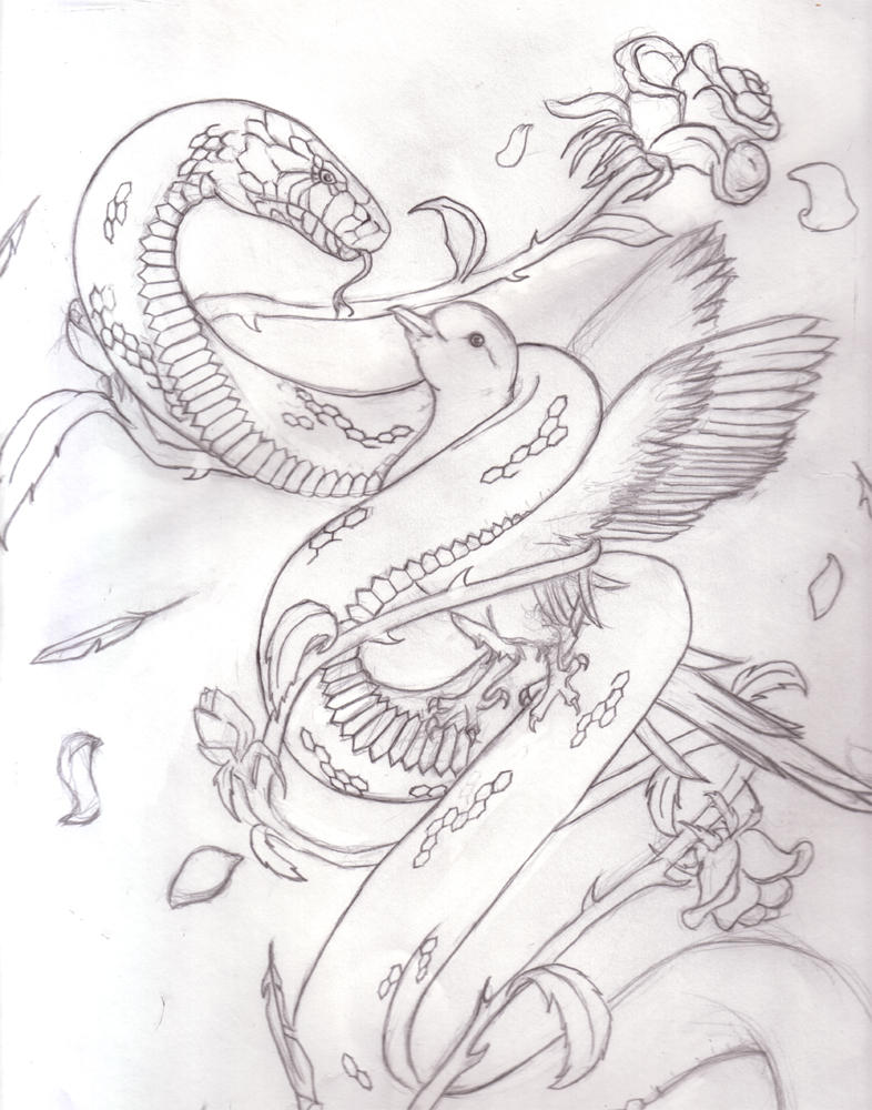 progress on bro's tat design - chest tattoo