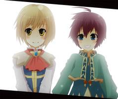 Friends by kumoritan