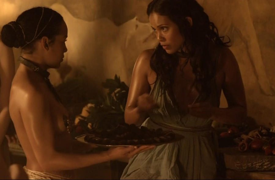 Slave tears of rome ii in hands of lesbian mistress 6