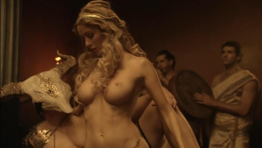 Roman nude ancient slave girl