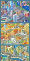 Pixel cities for Smart Russia