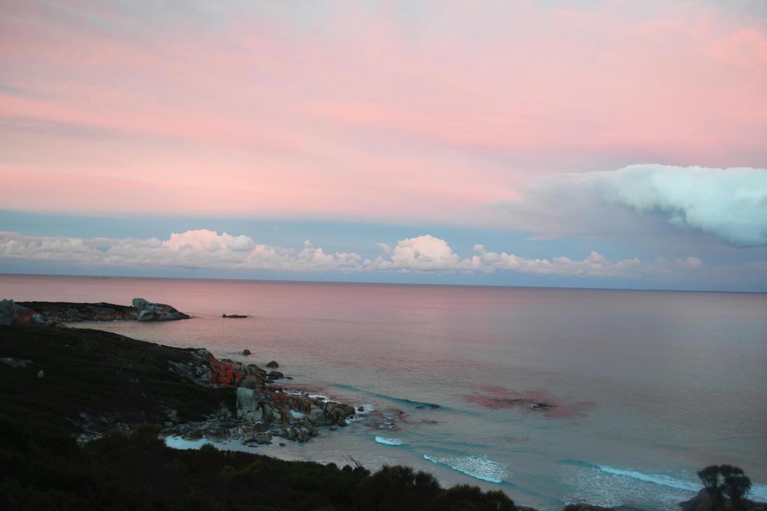 Bubblegum Sunset by gloestar