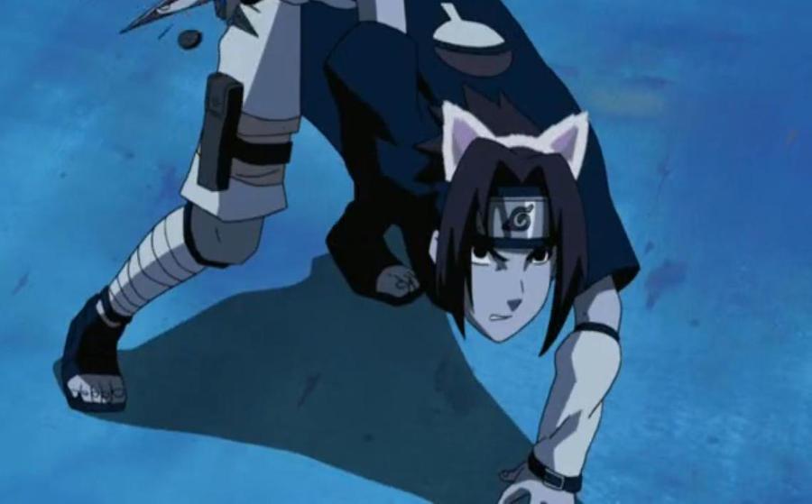 Neko Sasuke by KonanBlue12 on DeviantArt  Sasuke As A Cat