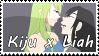 Soul Eater OC~ Kiju x Liah Support Stamp by KendySketch
