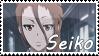 Psycho Pass OC~ Nozaki Seiko Support Stamp by KendySketch