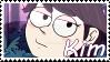 Gravity Falls OC~ Kim Stamp by KendySketch