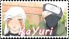 Naruto OC~ Kakashi x Sayuri Stamp by KendySketch