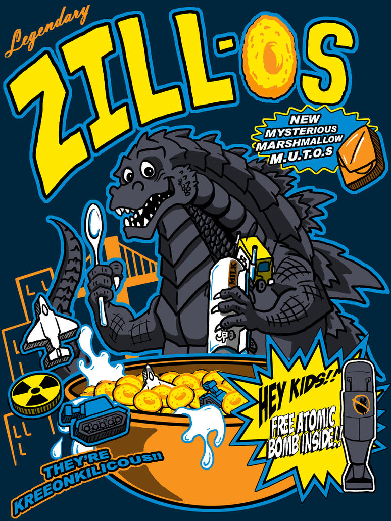 Legendary Zill-Os cereal shirt by TheMonsterfink