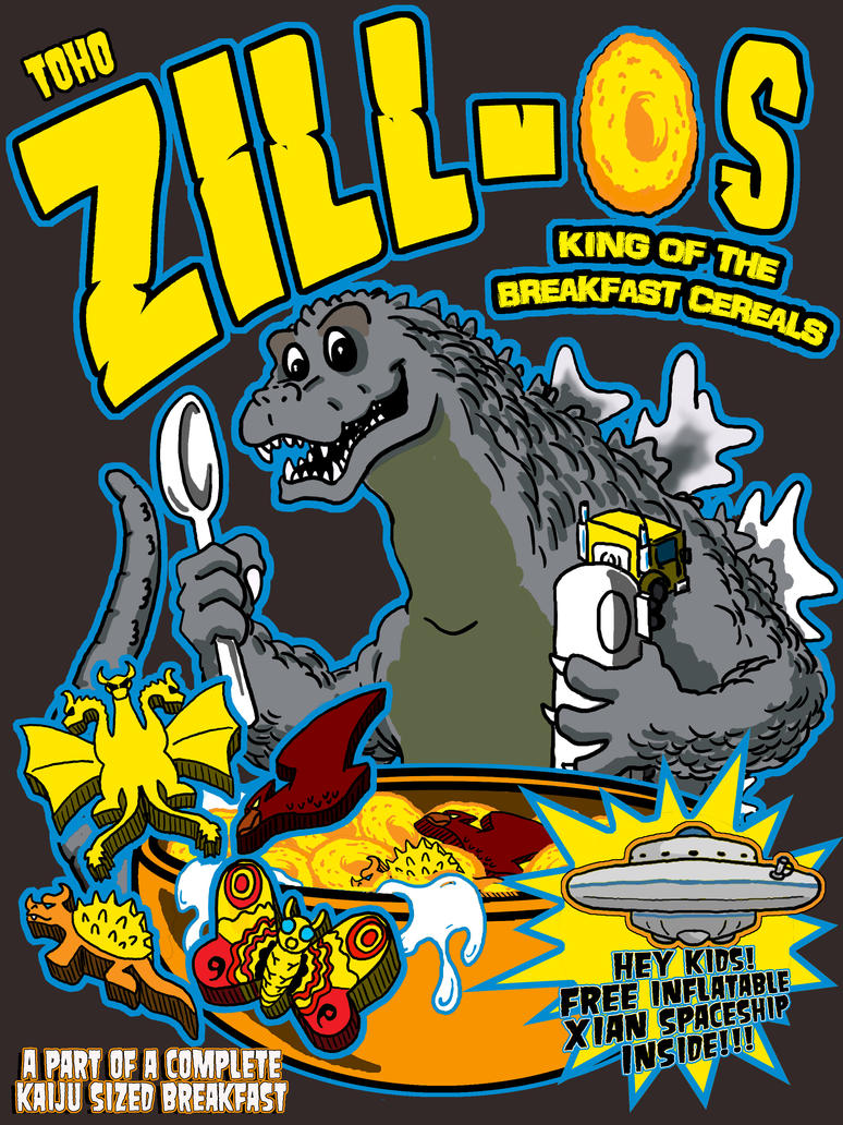 Classic Zill-Os cereal shirt by TheMonsterfink