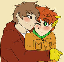 Kyman hugs by Jaffasandjumpers