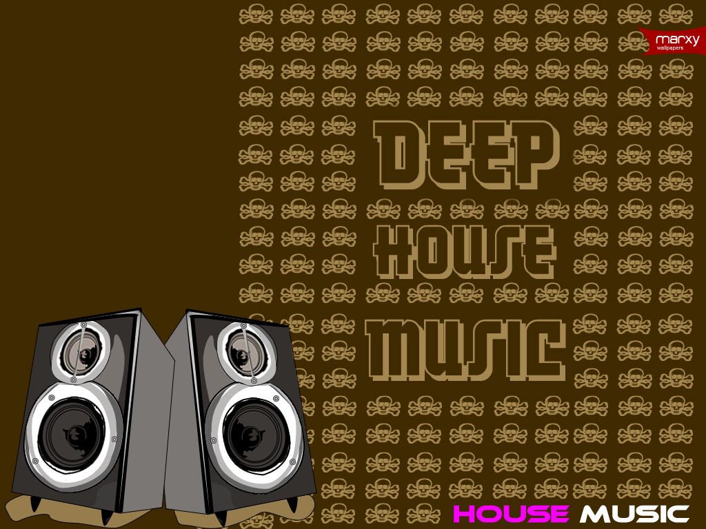 Deep house music by marxy m on deviantart for House music art