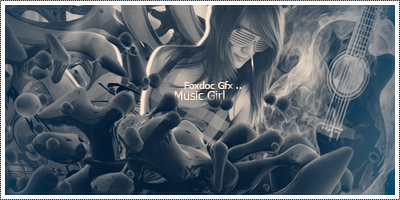 Music Girl by FoxdocGFX