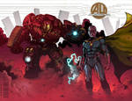 Age of Ultron Blank Cover by Roderic-Rodriguez