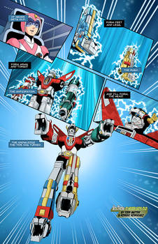 VOLTRON: IT NEVER GETS OLD