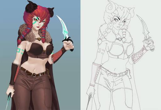 Arya - Character Concept