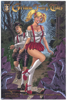 Grimm Fairy Tale 3 Cover