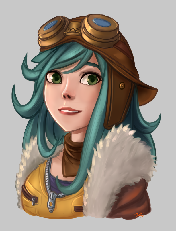 Aviator Irelia by Pepsilx on DeviantArt