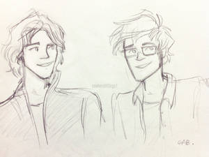 Padfoot and Prongs