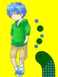 Lazy Boy Eel Gijinka by Sennel