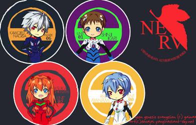 NGE: Rebuild Button Set by Sennel