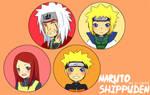 Naruto Shippuden Button Set