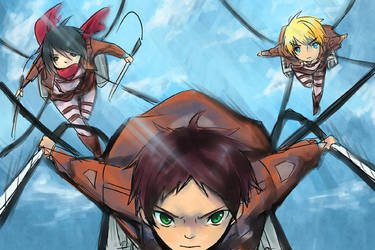 Attack on Titans by Sennel