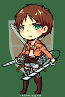 Attack on Titan: Eren Jaeger by Sennel