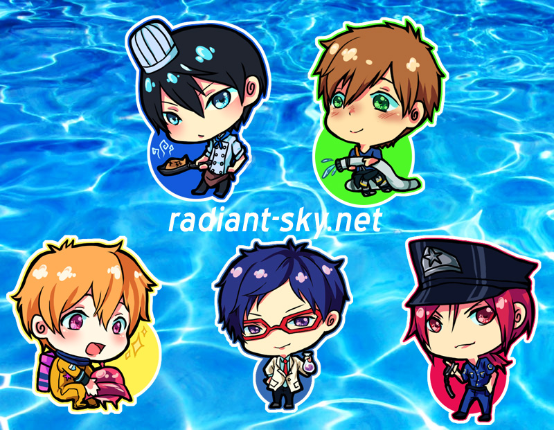Free! NEVER GIVE UP! by Sennel