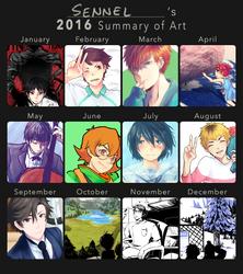 2016 Art Summary by Sennel