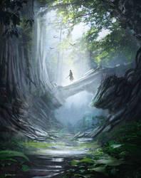 lonley quest by JulioDionizioArt