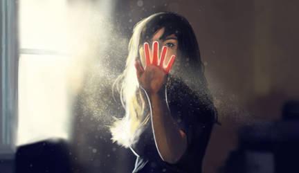 breaking the light by JulioDionizioArt