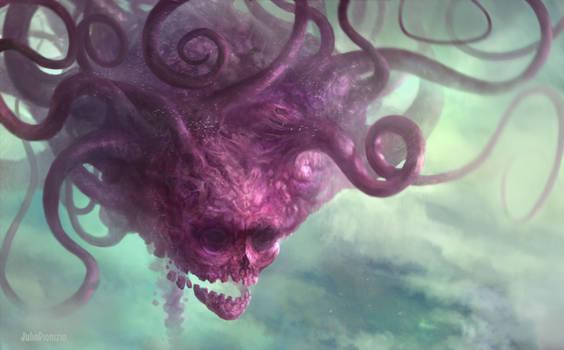 Crimson Sky Kraken