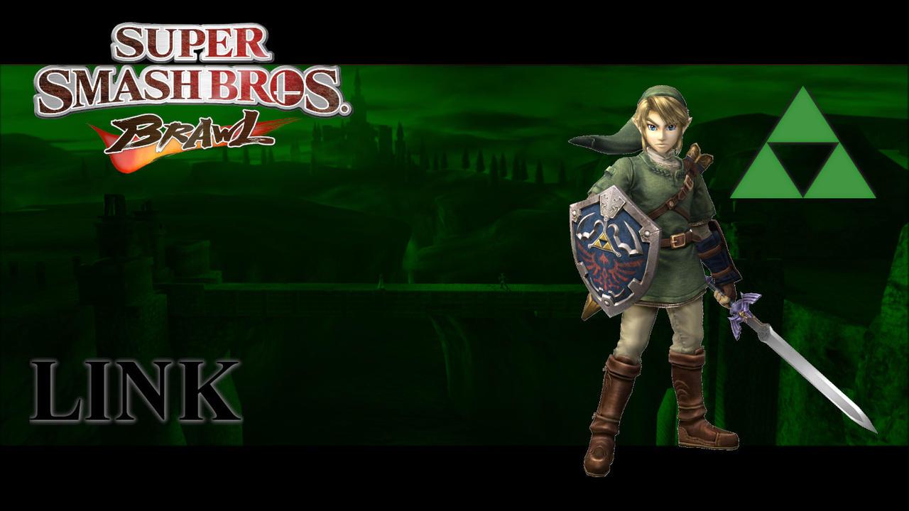 Super Smash Bros Brawl Link Wallpaper By Zincgzz On Deviantart
