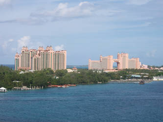 Twin hotels in the Bahamas