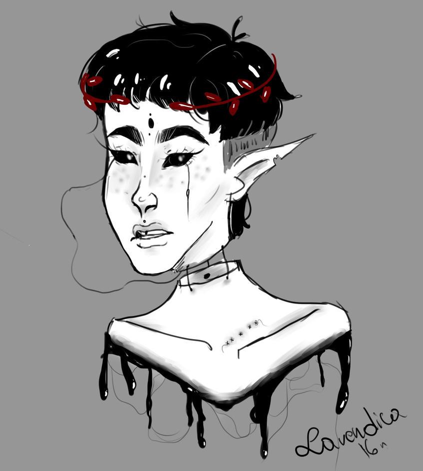 random girl by Lavendica