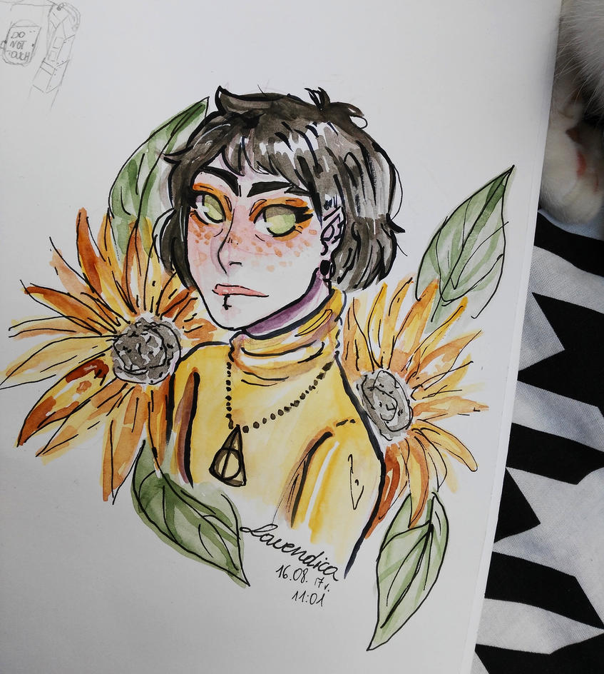 Sunflower by Lavendica