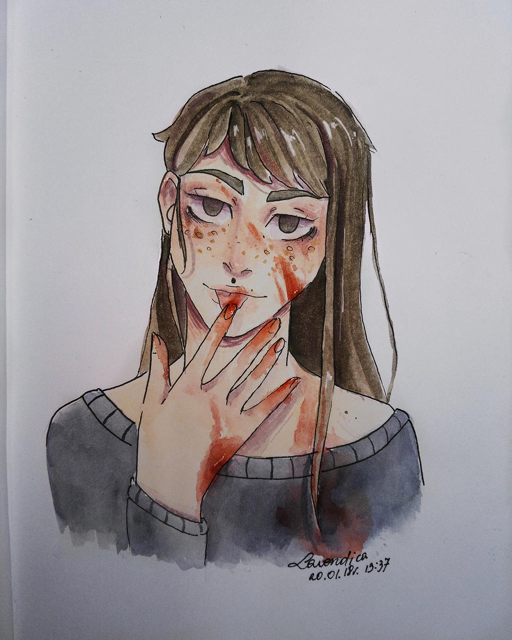 Blood by Lavendica