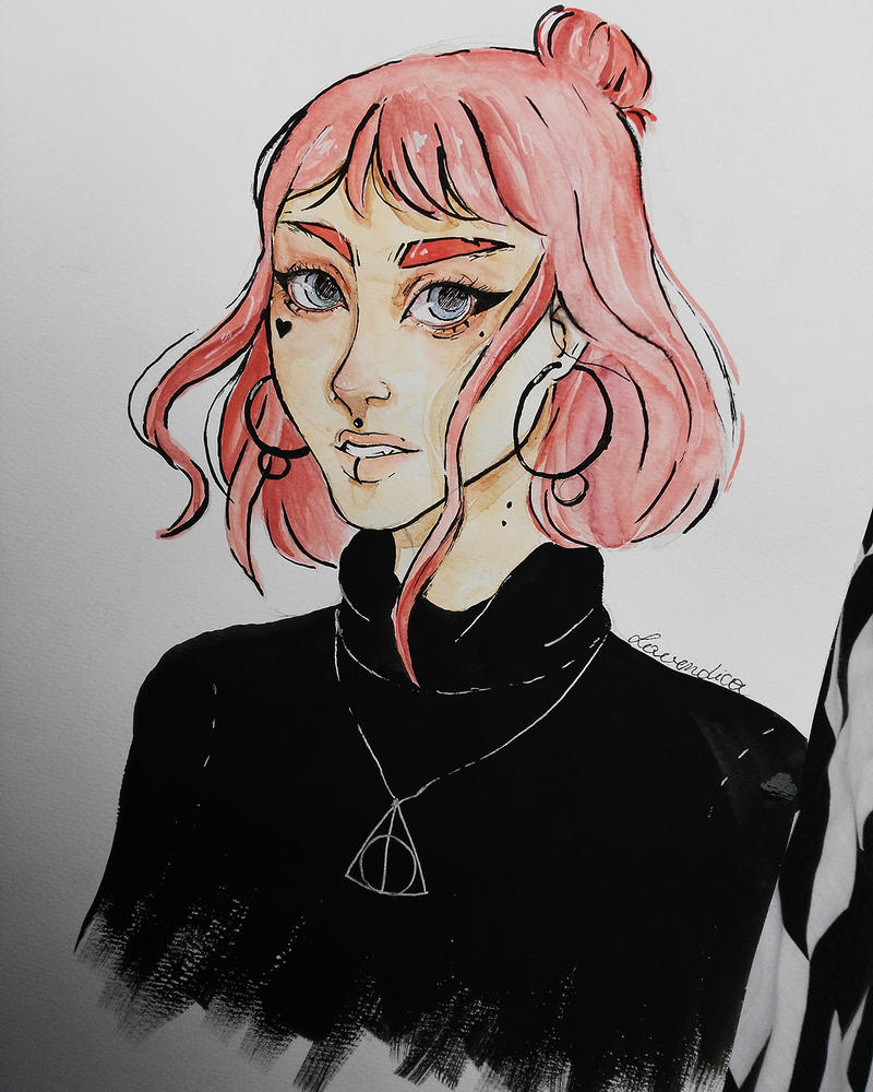 baby pink by Lavendica