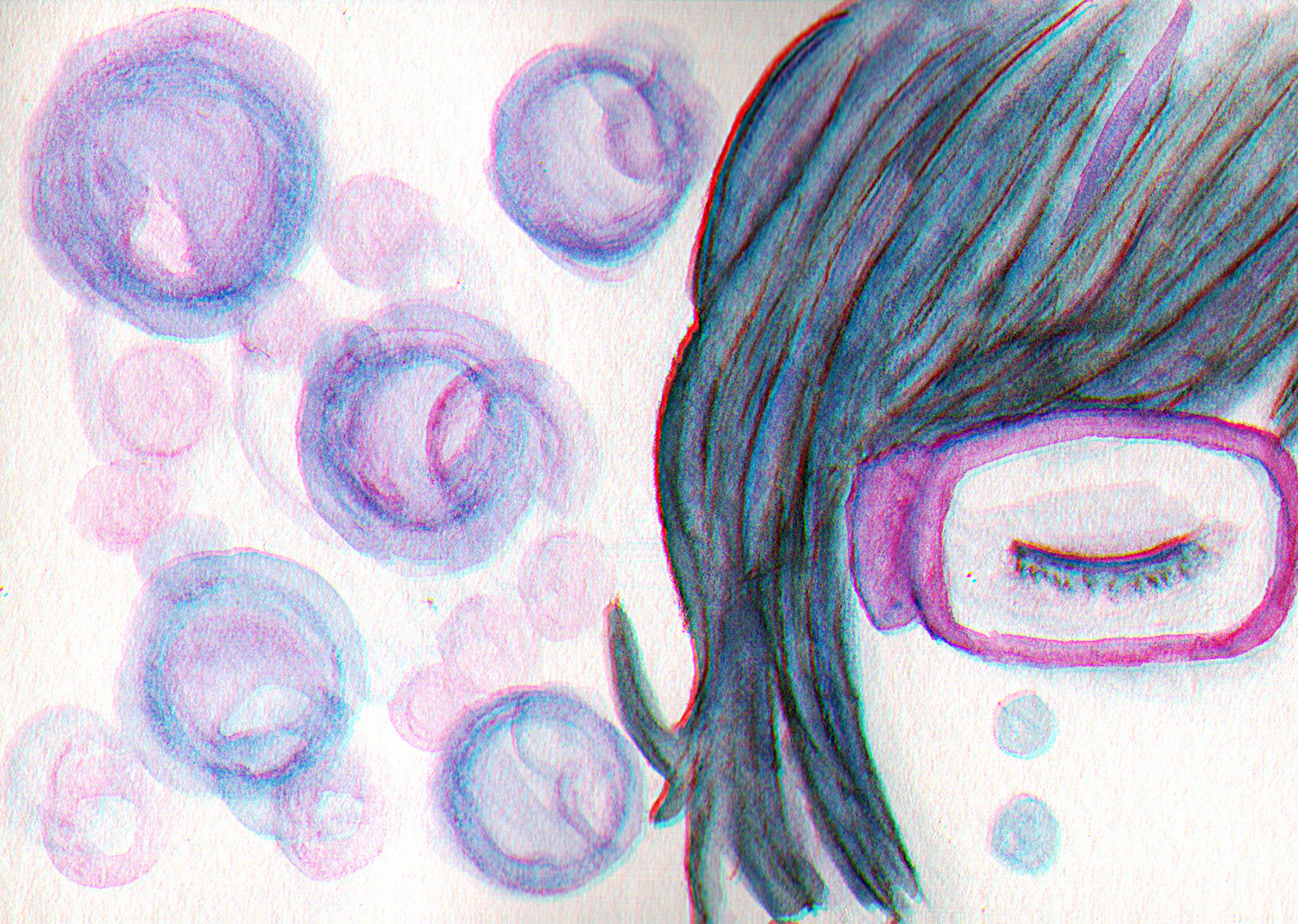 Tristeza en azul by SadakoLoan
