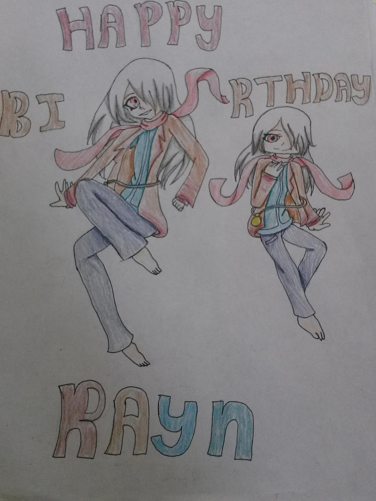Happy Birthday Rayn! by rexle132